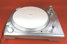 ION iTTUSB Turntable USB Record Player Belt Driven Silver Two Speed 33 45 RPM