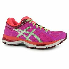 Asics Gel Cumulus 17 Running Shoes Womens Pink/Coral Fitness Trainers Sneakers
