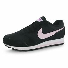 Nike MD Runner 2 Trainers Womens Black/Violet Casual Fashion Sneakers Shoes