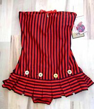 Juicy Couture Sailor Girl One Piece Swimsuit Swimdress XS S M NWT $190