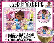 Doc Mcstuffins Edible Cake Toppers picture sugar tops paper image frosting sheet