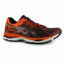 Asics Gel Cumulus Running Shoes Mens Ruby/Orange Fitness Trainers Sneakers