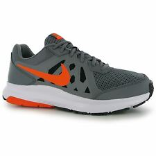 Nike Dart 11 Running Shoes Mens Grey/Orange Fitness Sports Trainers Sneakers