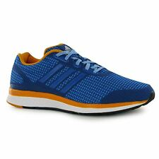 Adidas Mana Bounce Running Shoes Mens Blue/White Fitness Trainers Sneakers
