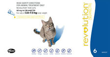 Revolution Blue for Cats (2.6-7.5kg) | FREE Shipping to select Australian areas!