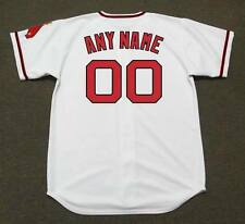 """CALIFORNIA ANGELS 1970's Majestic Cooperstown """"Customized"""" Home Jersey"""