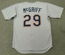 FRED McGRIFF San Diego Padres 1992 Majestic Throwback Away Baseball Jersey