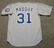GREG MADDUX Chicago Cubs 1990 Majestic Cooperstown Away Baseball Jersey