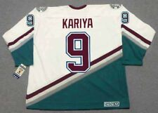 PAUL KARIYA Anaheim Mighty Ducks 2003 CCM Throwback Home NHL Hockey Jersey