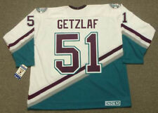 RYAN GETZLAF Anaheim Mighty Ducks 2005 CCM Throwback Away NHL Hockey Jersey