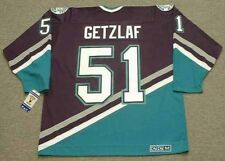 RYAN GETZLAF Anaheim Mighty Ducks 2005 CCM Throwback Home NHL Hockey Jersey