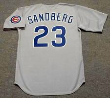 RYNE SANDBERG Chicago Cubs 1990 Majestic Cooperstown Away Baseball Jersey