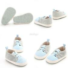 Toddler Baby Boy Girl Canvas Walking Shoes Sneakers Kid Soft Sole Crib Shoes New