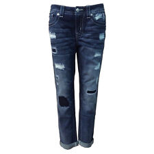 NWT Miss Me Boyfriend Jean with Patches