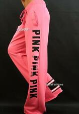 Victoria's Secret Love PINK Boyfriend Fit Campus Lounge Graphic Logo Sweat Pants