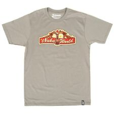 Fallout 4 Nuka World Tee T-Shirt Men with Nuka Cola Logo - Size S M XL XXL 3XL