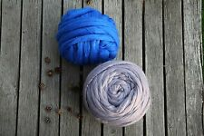 Chunky Wool Yarn. 100% wool.  Super Bulky Knitting. Arm Knitting. Wool Roving