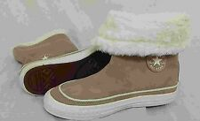 New! Women's Converse- CT BEVERLY Boot in Beige Suede 525939C D6