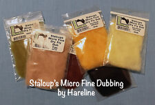 Stalcups Micro Fine Dry Fly Dubbing by Hareline Dubbin • Fly Tying • Close-Out!