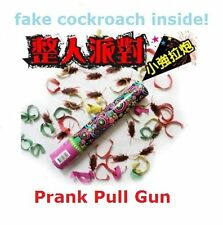 Prank Fake Cockroaches Cock Roach Party Gun Gag Gift Game Birthday