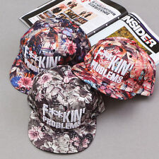 Men Women Baseball Cap Adjustable Snapback Multi-color Flower Sport Hip-Hop Hats