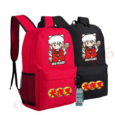 New/wtag  4 style Inuyasha Anime Bag Laptop Unisex Shoulder School Backpack
