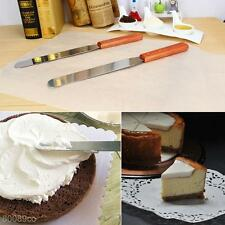 6/8/10Inch Stainless Butter Cake Cream Spatula Smoother Icing Frosting Spreader