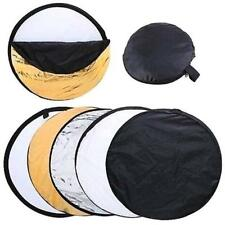5in1/60 80 110cm Photography Studio Light Mulit Collapsible disc Reflector G8