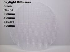 Replacement Skylight Diffuser Round 300mm , 400mm Square 400mm Made In Australia