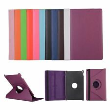 "360°Rotating Ultra Slim PU Leather For Amazon HDX Fire Kindle 10"" Case Cover"