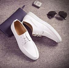 Mens fashion skate board sneaker moccasin flat driving shoes casual formal shoes