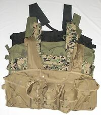 Condor CR 7 Pocket Chest Rig 5.56mm Vest Rack MOLLE DIGI OD Green Black Tan