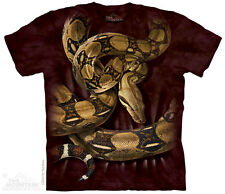 BOA CONSTRICTOR SNAKE T Shirt The Mountain Red Tail Boa Adult Tee S-3XL 4XL 5XL