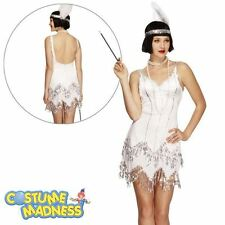 Fever Flapper Dazzle Costume- Adult Woman Outfit Fancy Dress
