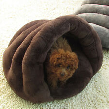New Cat Bed Warm Pet Cat Nest House Sleeping Bag Cozy Winter Cave Cushion Bed