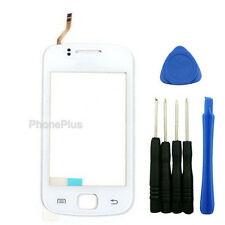 Touch Screen Digitizer Glass Lens Replacement for Samsung Galaxy Gio S5660 White