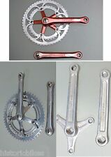 NERVAR CrankSet Anodized & B.S.A. & without Chain Rings You Can Choose Different