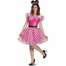 Pink Minnie Mouse Glam Women's Adult Halloween Costume. Free Shipping