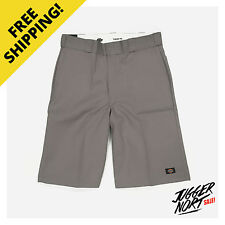 DICKIES 13 Inch Multi Pocket Work Short Silver - Authentic - FREE Postage