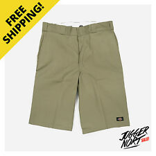 DICKIES 13 Inch Multi Pocket Work Short Khaki - Authentic - FREE Postage