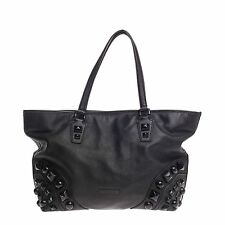 Burberry Nickie Tote Studded Leather Medium