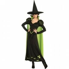 Wizard of Oz Wicked Witch of the West Adult Halloween Costume. Free Delivery
