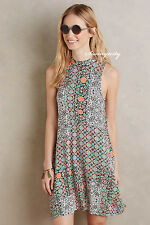 NWT L Anthropologie Lilt Swing Dress by Maeve Cute & Flattering, Colorful Print