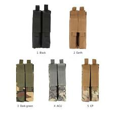 1000D Molle Tactical Airsoft Flashlight Holster Pistol Magazine Mag Pouch X2B6
