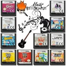 Multi✿ Nintendo DS DSi XL 2DS 3DS ●● MUSIC / MUSICAL Games ●● Games Added 27/08