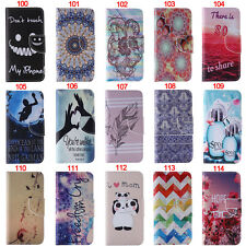 Teeth Panda Wallet Leather Flip Case Cover Stand For iPhone 4S/5S/5/SE/6S/6 Plus