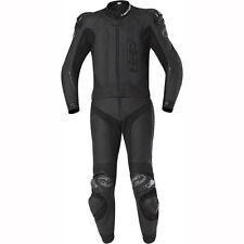 Motorcycle Held 5413 Yagusa 2 Piece Leather Race Suit - Black UK