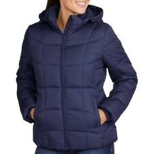 Faded Glory Women's Hooded Puffer Coat Size 4-6 Small, 12-14 Large