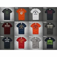 NWT ABERCROMBIE & FITCH MENS GRAPHIC TEE MULTI COLOR SIZE LARGE A&F