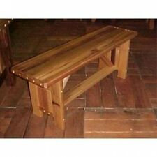 Wood Country Cabbage Hill Backless Bench. Shipping Included
